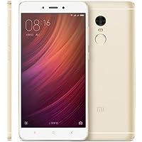 Xiaomi Redmi Note 4 64GB SIMフリー スマートフォン , Network: 4G LTE , 5.5 inch スクリーン MIUI 8.0 MTK Helio X20 Deca Core up to 2.1GHz , RAM: 3GB , ROM: 64GB , (ゴールド) [並行輸入品]
