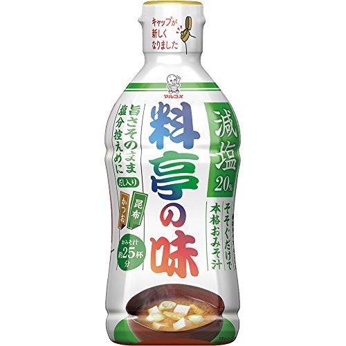 液みそ 料亭の味 減塩 430g