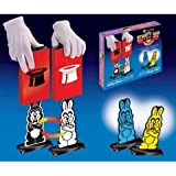 Loftus International Hippity Hop Rabbits Easy Quick Change Bunny Magic Trick [並行輸入品]
