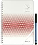CANSAY nu board A5 SHOTNOTEタイプ White & Grid Edition レッド