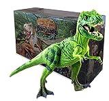ExtinctWorld Tyrannosaurus Rex T Rex Dinosaur Action Figure Toys Moveable Arms Legs Tail Jaws Exquisite Detail