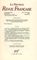 La n.r.f. 400 (mai 1986)