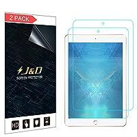 [ 2- Pack ] iPad 9.7インチ2018スクリーンプロテクター、J & D [シールドアンチブルーライト] [フルカバー保護] [ Not ]プレミアムフィルムスクリーンプロテクターfor Apple iPad 9.7インチ(リリースで2018) iPad 9.7 inch 2018-screen protector
