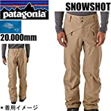 Patagonia メンズ スキー PATAGONIA ●パタゴニア メンズ パンツ ウェア SNOWSHOT -PT 30689 MOJAVE KHAKI レギュラー丈 MJVK スノーショット PATAGONIA スキー・スノーボード 【C1】