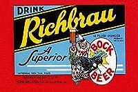 Buyenlarge ' Drink richbrau Bock Beer '紙ポスター、20by 30インチ