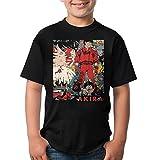Akira 3D プリント 個性 Tシャツ 男女兼用 人気 カジュアル 半袖 カジュアル ファッション 通学 運動 T Shirt