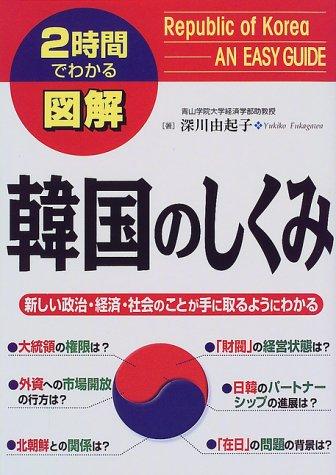 2時間でわかる図解 韓国のしくみ—新しい政治・経済・社会のことが手に取るようにわかる (2時間でわかる図解シリーズ)