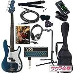 SELDER セルダー ベース プレシジョンベースタイプ PB-30/MBL VOX amPlug2【アンプラグ2 AP-BS(BASS)】サクラ楽器オリジナルセット
