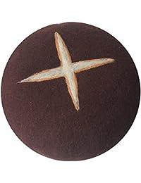 123Arts HAT レディース US サイズ: free カラー: ブラウン