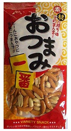おつまみ一番 柿バタピー 75g×10