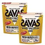 ザバス アクア ホエイプロテイン100 香るミルク風味 1050g(約50食分)×2個セット