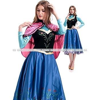 07852858f6fab アナと雪の女王 アナ ドレス コスチューム レディース Mサイズ