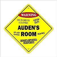 w。h。オーデンの部屋サイン子供ベッドルームの装飾ドア子供の名前少年少女ギフト