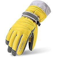 Arcweg スキーグローブ キッズ スノー グローブ メンズ レディース スノボー グローブ ジュニア 防寒 手袋 登山 撥水加工 厚手 子供用~成人用 S~XL