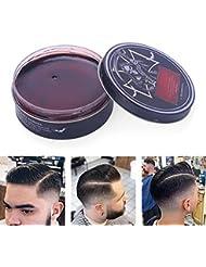 プロのヘアスタイリング100ミリリットルを設計するための男性のためのヘアスタイリングワックス、ナチュラルおよび有機成分ヘアスタイリング粘土