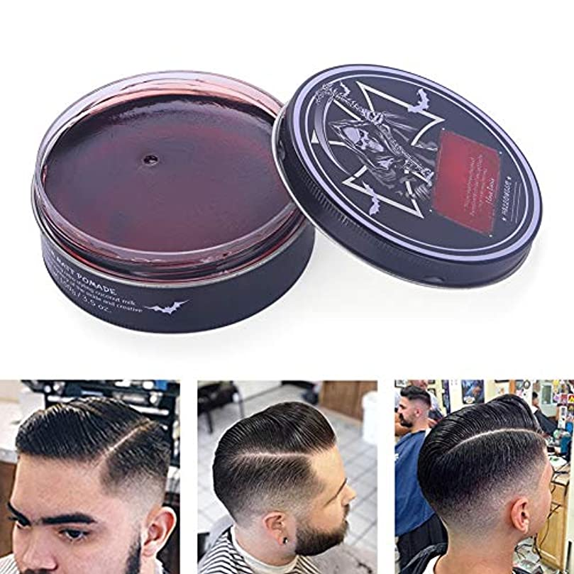 マイクロフォン意見アンペアプロのヘアスタイリング100ミリリットルを設計するための男性のためのヘアスタイリングワックス、ナチュラルおよび有機成分ヘアスタイリング粘土