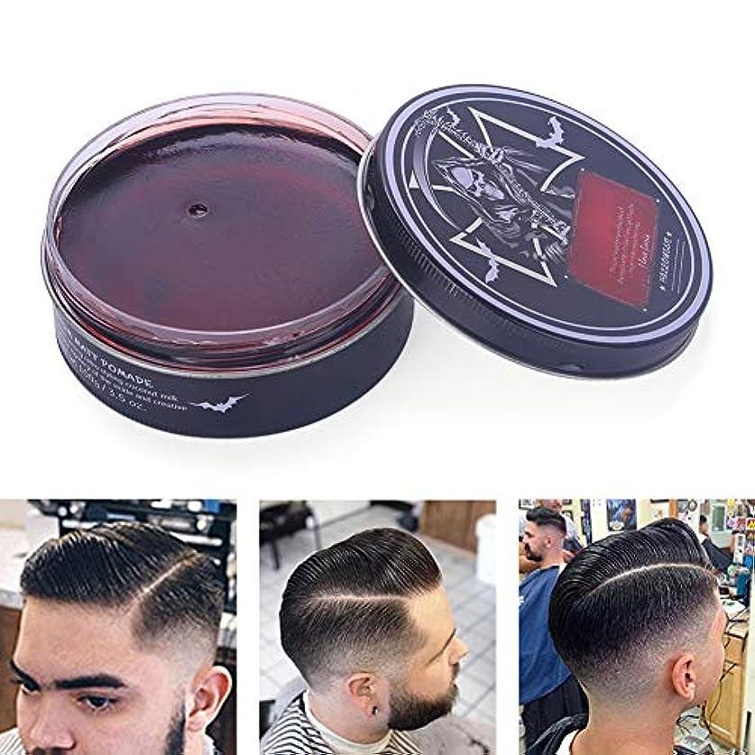 アラバマ発表思いやりのあるプロのヘアスタイリング100ミリリットルを設計するための男性のためのヘアスタイリングワックス、ナチュラルおよび有機成分ヘアスタイリング粘土