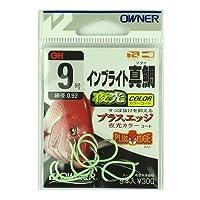 オーナー(OWNER) インブライト真鯛 フック9 16516 釣り針