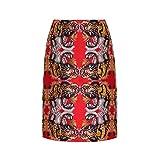 (グッチ) Gucci レディース スカート ひざ丈スカート Tiger brocade skirt [並行輸入品]