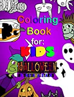 Coloring Book for KIDS: Halloween