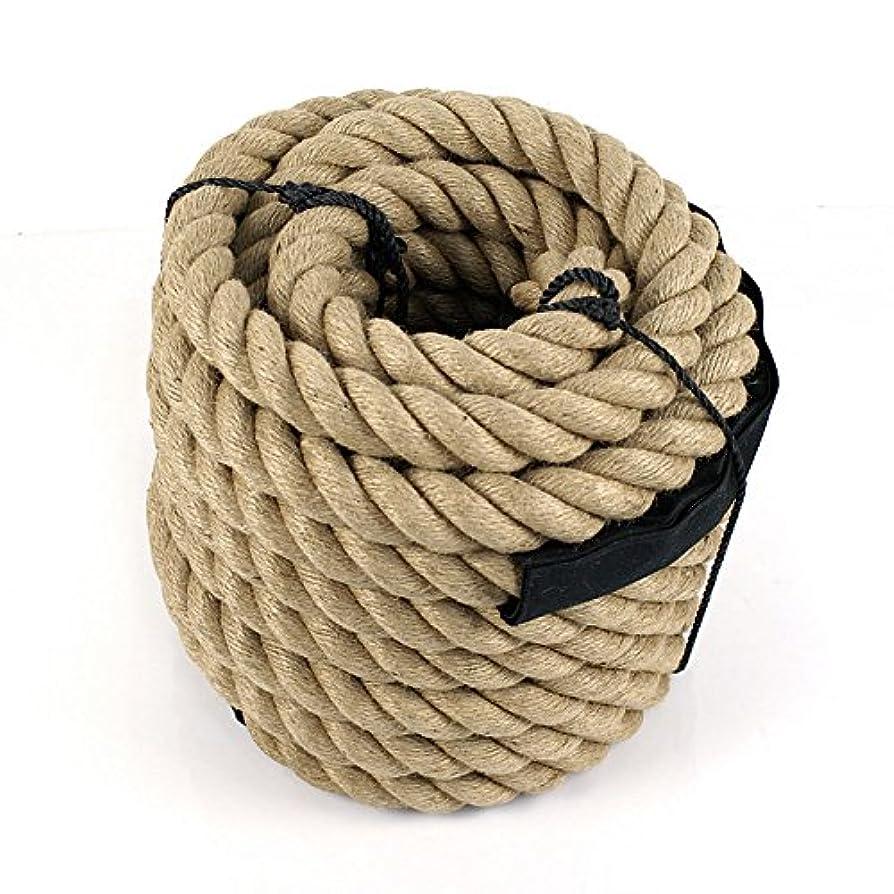 エレクトロニック襟満足多目的ロープ マニラロープ ボートドック ツリーファームクラフト フィットネス 航海 アンデュレーション 1-1/2インチ X 50フィート 多目的ロープ マニラロープ ボートドック ツリーファームクラフト フィットネス 航海中 1-1/2インチ X 50フィート
