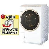 東芝 11.0kg ドラム式洗濯乾燥機【左開き】グランホワイトTOSHIBA ZABOON TW-117A6L-W