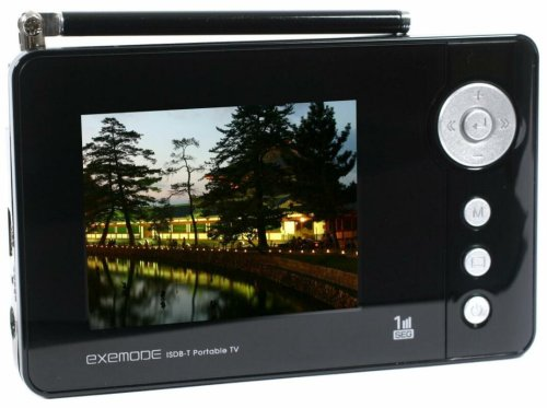 EXEMODE  2.4型 液晶 テレビ  i24-BK  ワンセグ ブラック