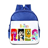 crocs ボーイズ The Beatles音楽Kidsバックパック男の子女の子スクールバッグ( 2色:ピンクブルー) One Size