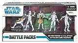 スターウォーズ Star Wars Clone Wars Exclusive Action Figure フィギュア 人形 Battle Pack Obi-Wan Kenobi オビワンケノービ and 212th Attack Battalion clone trooper クローントルーパーs [並行輸入品]