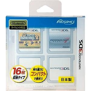 ニンテンドー3DS/DSカード収納ケース カードポケット16 クリア
