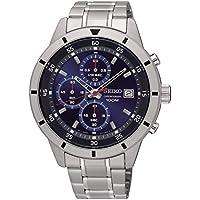 セイコー SEIKO クロノグラフ ウォッチ ブルーダイヤル メンズ腕時計 SKS559 平行輸入品