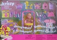 バービーKrissy Swing ' n Play人形セット( 2001multi-lingualボックスカナダから)