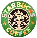 STARBUCKS スターバックス 大型 レインボーカラー 旧ロゴ マウスパッド