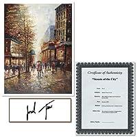 フランスのストリートシーンI by Joval、24x 81cmキャンバス壁アート