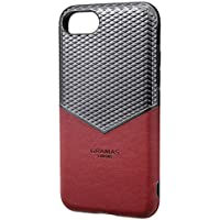 "GRAMAS COLORS""Edge"" Hybrid Shell Case for iPhone 8/7/6s/6 Burgundy (バーガンディ)"
