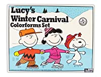 Colorforms Retro Lucy's Winter Carnival Art and Craft Kit [並行輸入品]