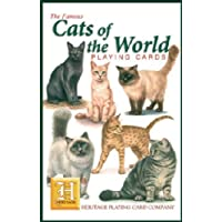 PLAYING CARDS  Cats of the World