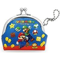スーパーマリオ 財布 がま口 ラウンド アイコン RM-5151