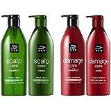 [ミジャンセ ] Miseen Scene [アモーレパシフィック?ミジャンセン]スカルプケア?シャンプー680ml +リンス680ml [Scalp Care Shampoo Rinse Set] & ダメージケア シャンプー...