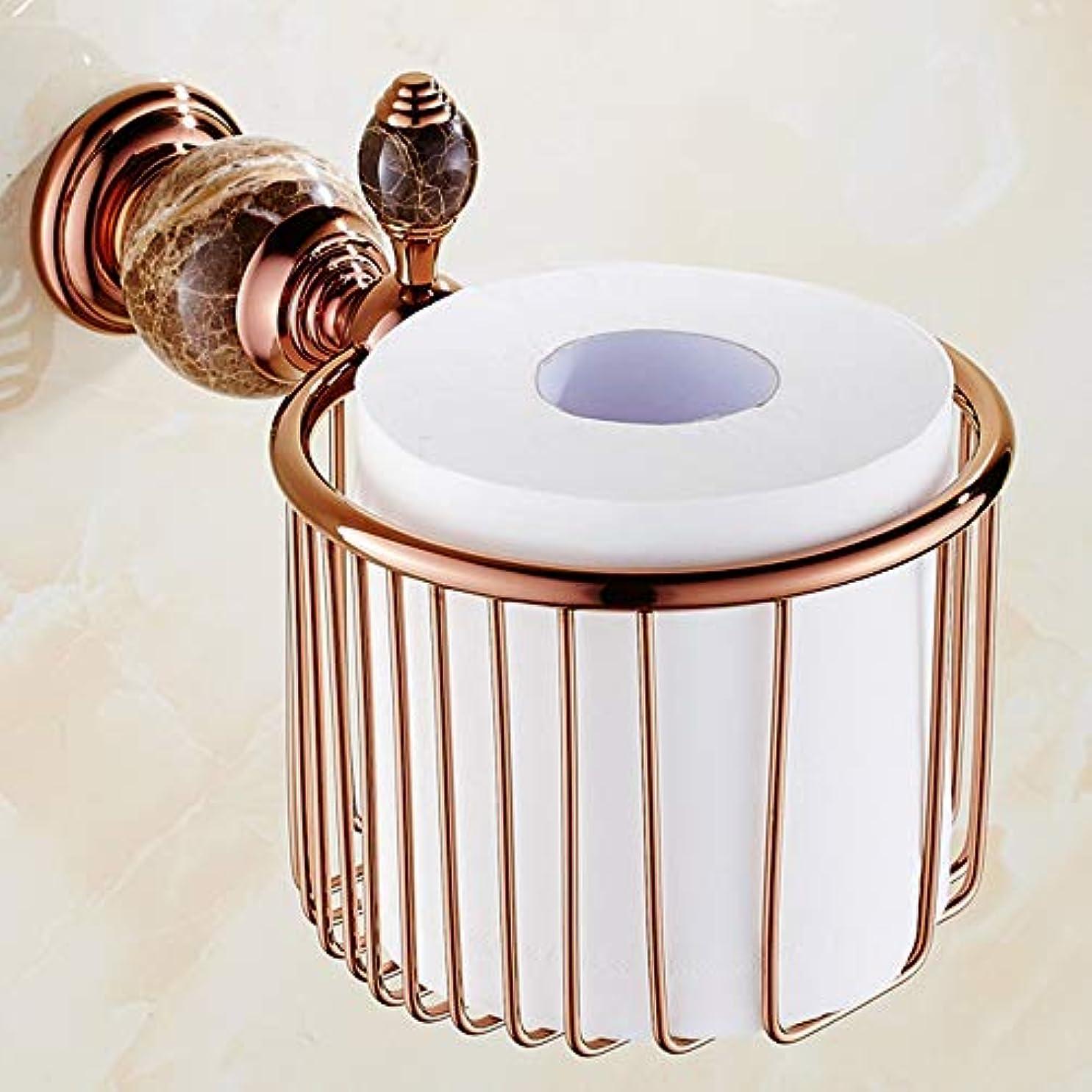 君主ハシー規模ZZLX 紙タオルホルダー、ローズゴールドトイレットティッシュペーパーバストイレットペーパーホルダーティッシュボックス ロングハンドル風呂ブラシ (色 : B)