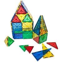 diizii Mag Builders 3dプラスチック磁気タイル建物ブロック教育磁石、32ピース、BPAフリー