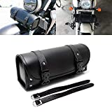 ツールバッグ バイク汎用 工具入れ 小物入れ ツーリング ツールポーチ 容量3L ツアラー用 イージーオープン ブラック (001)