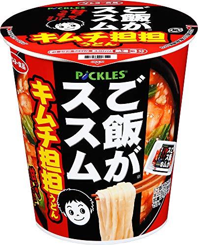 サンヨー食品 ご飯がススム キムチ担担うどん 71g ×12箱