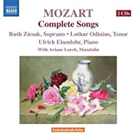 Mozart: Complete Songs by Ziesak (2008-06-24)