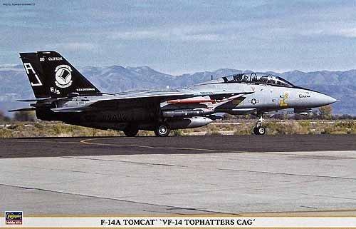 1/48 F-14Aトムキャット VF-14トップハッターズCAG
