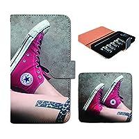 (ティアラ) Tiara プルームテック ケース ploom tech 専用 手帳型 カバー ジーンズ デニム スニーカー 靴 FP270030000004 denim jeans 本体 充電器 たばこ カプセル 全部 収納 禁煙