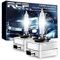 RCP HIDバルブ 車用ヘッドライト D1S/D1R汎用 純正交換 35W Xenon HID 8000K 発光色選択可能 明るさアップ 加工なし 2年保証 RCP-D1C