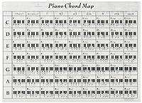 オリジナルクリアファイル 大きなサイズのピアノコードファイル PRSP-29