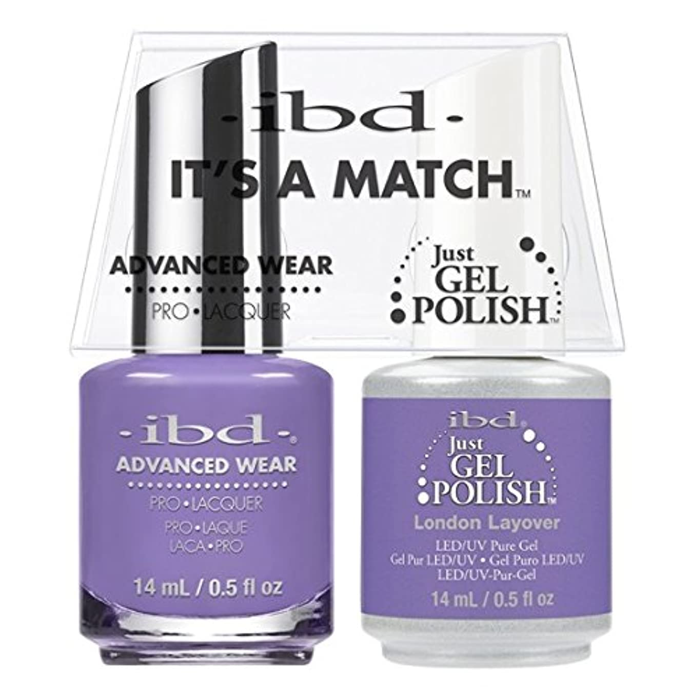 ibd - It's A Match -Duo Pack- Destination Collection - London Layover - 14 mL / 0.5 oz Each