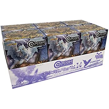 CAPCOM FIGURE BUILDER カプコンフィギュアビルダー モンスターハンター スタンダードモデル Plus Vol.14 BOX商品 1BOX=6個入り、全6種類